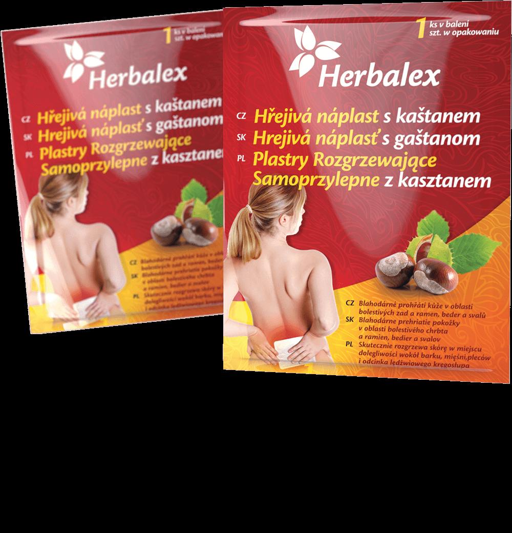 Herbalex hřejivá náplast s kaštanem